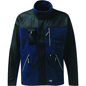 Dickies Eisenhower Bonded Fleece Jacket Black/Blue