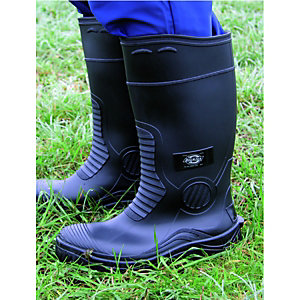 Dickies Wellington Boots Black