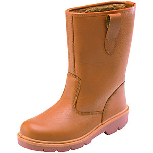 Dickies Rigger Safety Boots Tan Size 8