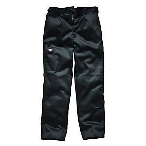 Dickies Redhawk Super Work Trousers Black 32W 32L