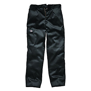 Dickies Redhawk Super Work Trousers Black 34L
