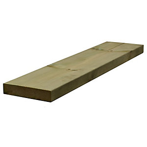 Sawn Timber Regularised Treated C16 47mm x 225mm x 5.4m