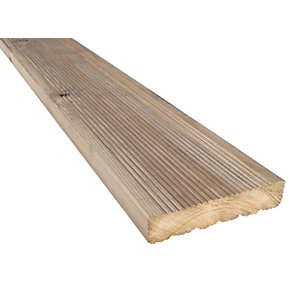 Treated Decking Boards 29mm x 124mm x 3.0m