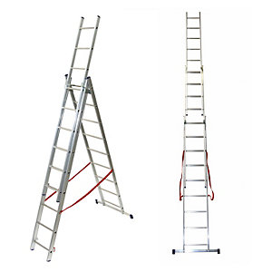 TB Davies 3.1m Light Duty Combination Ladder