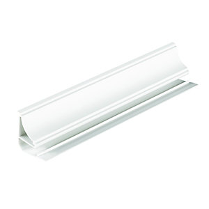 Wickes PVCu White Interior Coving 2500mm