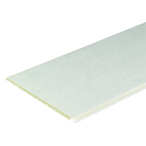 Wickes PVCu Marble Effect Interior Cladding 250x2500mm Pack 4