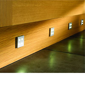 Wickes LED Square Starbright Plinth Light 4 Pack