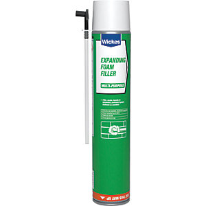 Wickes Expanding Foam Filler 750ml