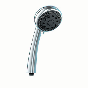 iflo Three Mode Chrome Shower Head - Shower Accessory
