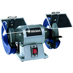 Wickes 250W Dual Wheeled Bench Grinder