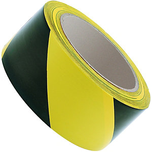 Wickes Hazard Tape 50mmx33m Yellow and Black