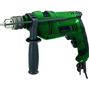 Wickes Hammer Drill With Keyed Chuck 810w
