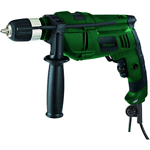 Wickes Hammer Drill With Keyless Chuck 810w