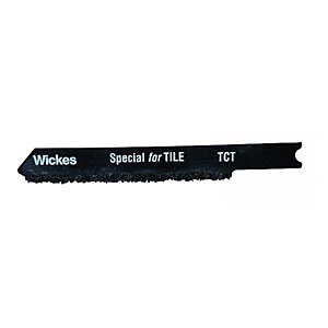Wickes Universal Tungsten Carbide Jigsaw Blade For Tile Pack 5