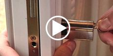 Video guide showing how to install a Euro profile cylinder lock