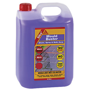 Sika Mould Buster Moss And Algae Remover 5L