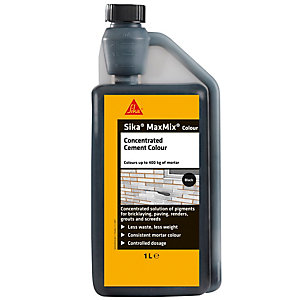 Sika Maxmix Cement Colour Black 1L