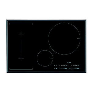 AEG HK854320FB 4 Zone Induction Hob Black 800mm