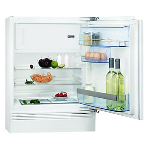 AEG SKS58240F0 Integrated Undercounter Fridge with 4* Freezer White