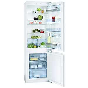 AEG SCS51800F0 Integrated Fridge Freezer 70:30 White