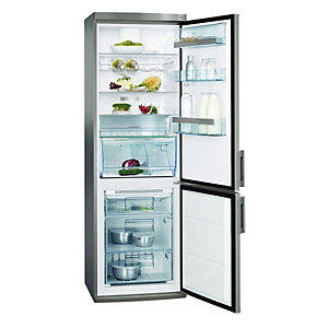 AEG S73400CTS1 Free Standing Frost Free Fridge Freezer Silver