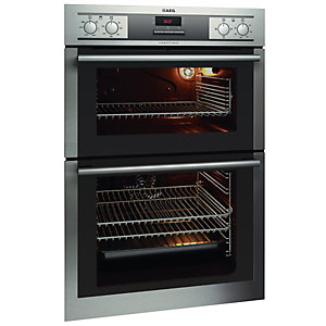 AEG DE4003000M Double Oven Stainless Steel