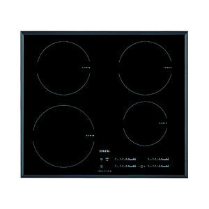 AEG HK654200FB 4 Zone Induction Hob Black 600mm