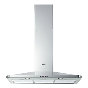 AEG DK4490M Designer Chimney Cooker Hood Stainless Steel 900mm