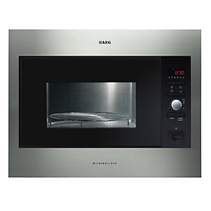AEG MCD266E-M Microwave Oven with Grill Stainless Steel 900W 26L