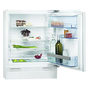 AEG SKS58200F0 Integrated Under Counter Larder Fridge White 600mm