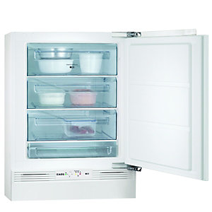 AEG AGS58200FO Integrated Under Counter Freezer White 600mm