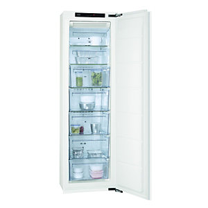 AEG AGN71800F0 Integrated In-Column Frost Free Freezer White 560mm
