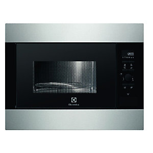 Electrolux EMS26204OX Fully Built-In 26 Litre Microwave Oven With Grill Stainless Steel 900W
