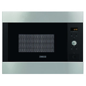 Zanussi ZBM26542XA Fully Built-in 26 Litre Microwave Oven Stainless Steel 900W
