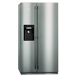 AEG S96090XVM1 American Style Side by Side Fridge Freezer Stainless Steel