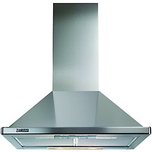 Zanussi ZHC60136X Chimney Hood Stainless Steel 600mm