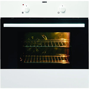 Zanussi ZOB142W Single Fan Oven White