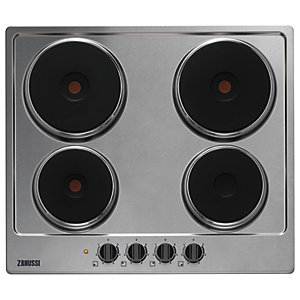 Zanussi ZEE6140FXA Electric Hob Stainless Steel