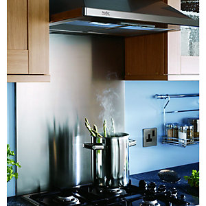Wickes Splashback Stainless Steel 600x700x15mm