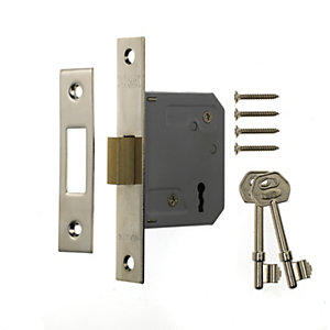 Era 3 Lever Deadlock 64mm Chrome