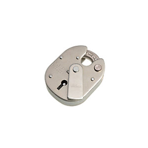 Wickes High Security Padlock 5 Lever Steel 63mm