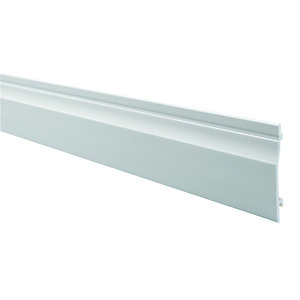 Wickes PVCu Shiplap Cladding 155x4000mm Pack 5