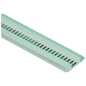 Wickes PVCu White Ventilated Soffit Strip 2500mm