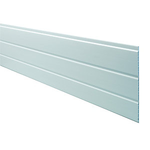 Wickes PVCu White Hollow Soffit Board 300x2500mm
