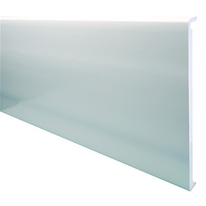 Wickes PVCu White Box End Board 18x450x1250mm