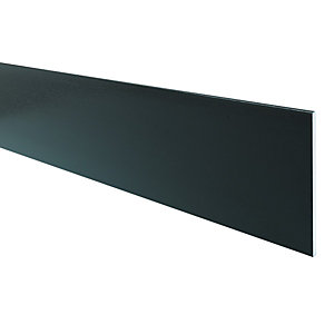 Wickes PVCu Black Soffit Reveal Liner 200x2500mm