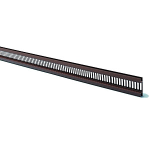 Wickes PVCu Black Ventilated Soffit Strip 2500mm