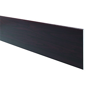 Wickes PVCu Rosewood Soffit Reveal Liner Board 300 x 2500mm