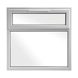 Wickes Upvc A Rated Casement Window White 1190 x 1160mm Top Hung