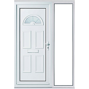 Wickes Carolina 1 Sidleight uPVC Door Set 2085x1520mm Right Opening